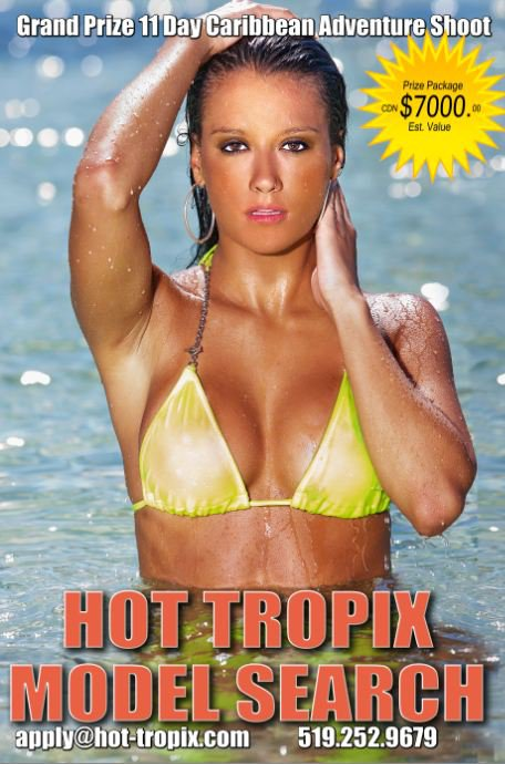 "To enter the HOT TROPIX MODEL SEARCH CONTEST (the ""Contest""), ..."